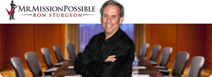 Ron Sturgeon, Mr. Mission Possible